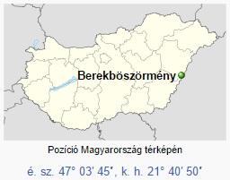 A település helye az országban.